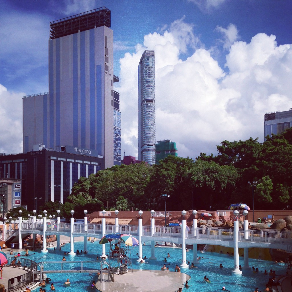 Kowloon Park & Swimming Pool in Hong Kong