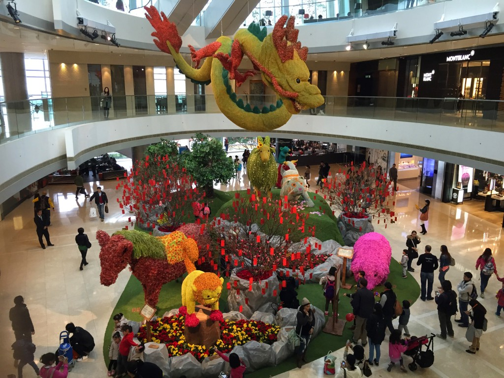Angekommen in Hong Kong. Bald ist wieder Chinese New Year!