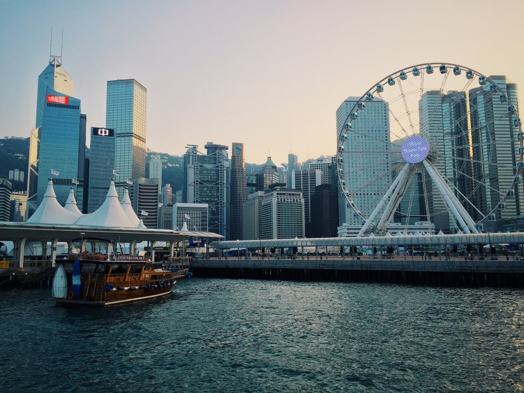 Hong Kong's Central District